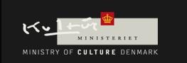 Ministry of Culture Denmark logo