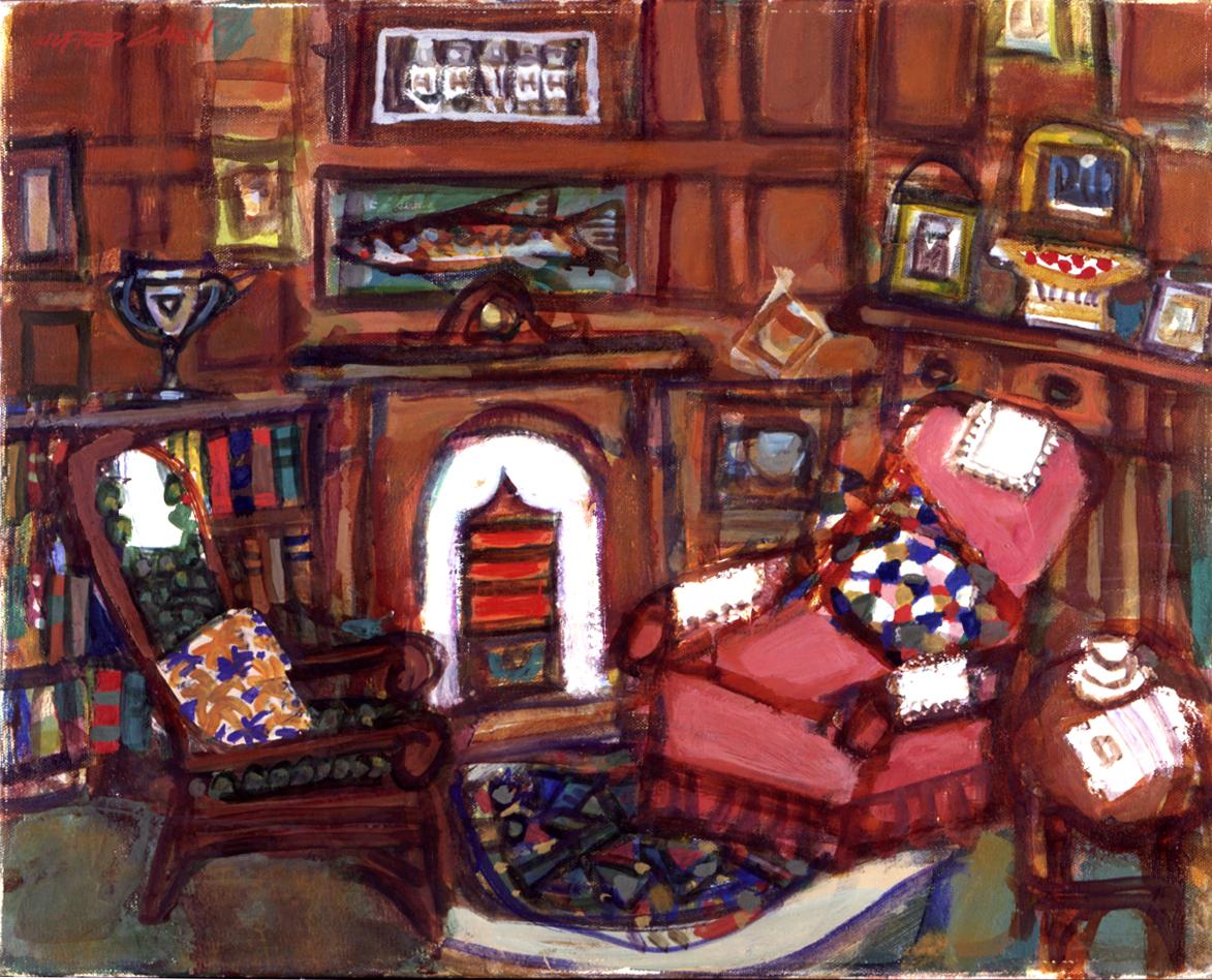 Arthurs Room -- painting